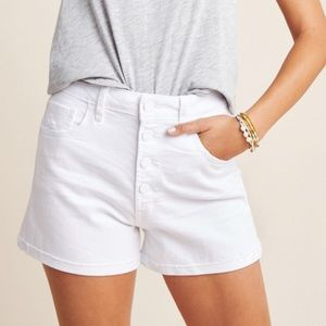 NEW Paige Sarah high rise button fly shorts